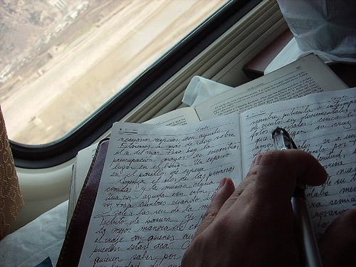 Escritura manuscrita